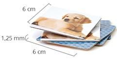 Muistipelikorttien koko
