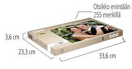 Palapelilaatikon koko -  500 palan palapeli